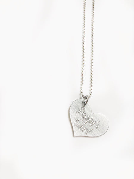 Children's Heart Necklace - Hand to Heart Jewelry