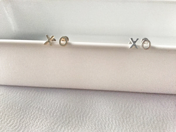 XO Earrings - nickel-free earrings - Hand to Heart Jewelry