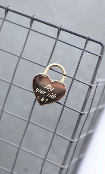 Love Lock {Padlock} - Hand to Heart Jewelry