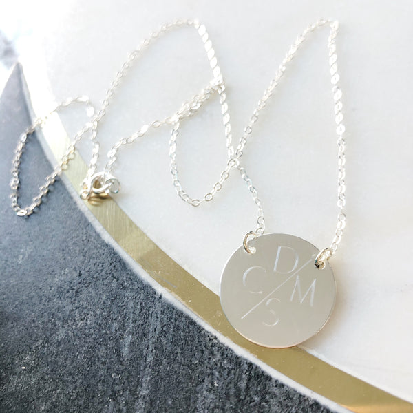 Crossed Path Necklace