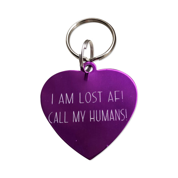 Funny Pet Tags - Hand to Heart Jewelry
