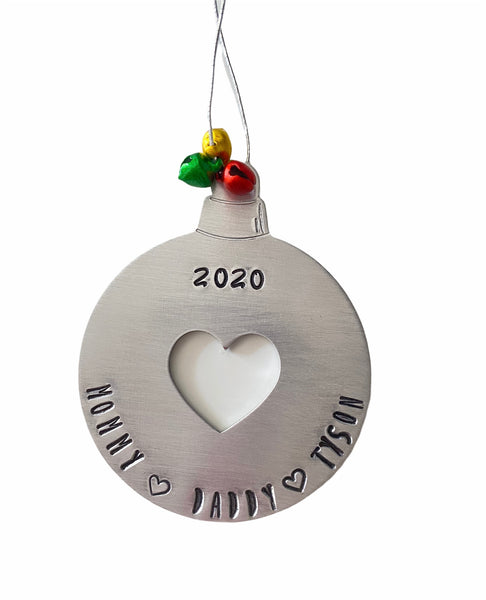 My Whole Heart Ornament