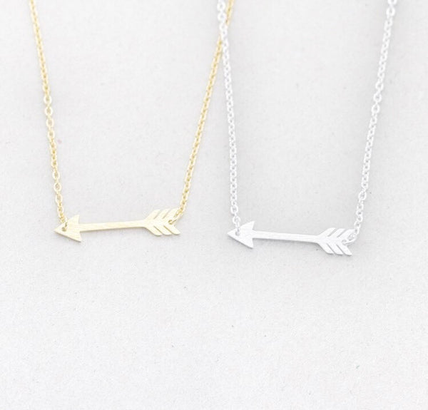Giftable Tiny Arrow Choker Necklace - Hand to Heart Jewelry