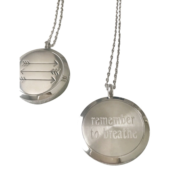 Aromatherapy Necklace - Hand to Heart Jewelry