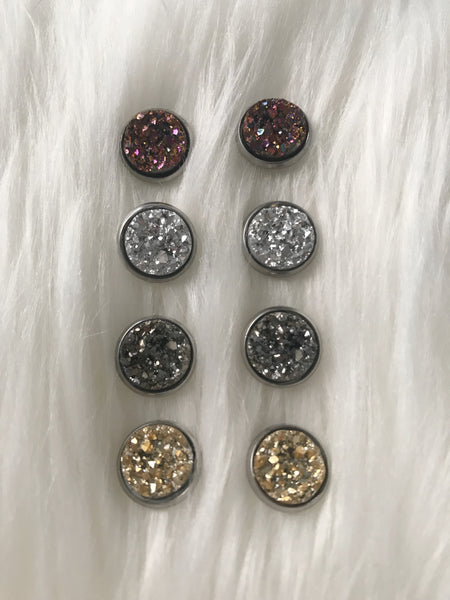 Druzy Earrings - Hand to Heart Jewelry