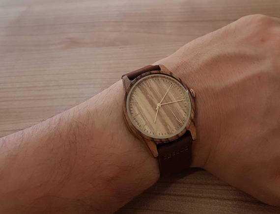 Laser Engraved Wooden Watches