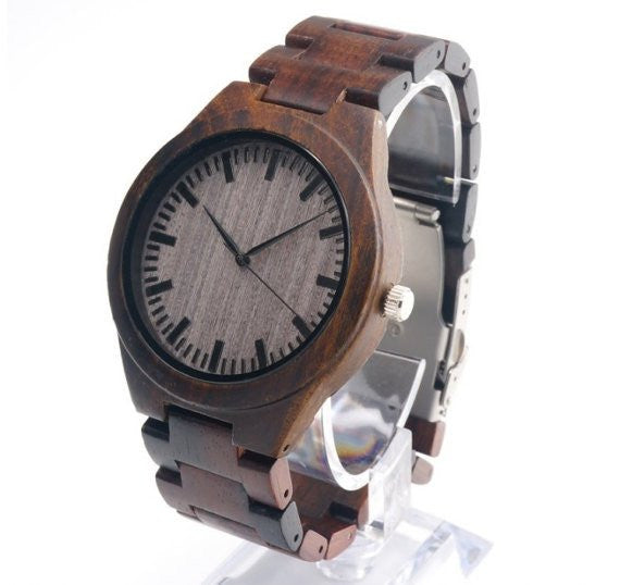 Why Wood? A Deeper Look into the Personalized Wood Watch