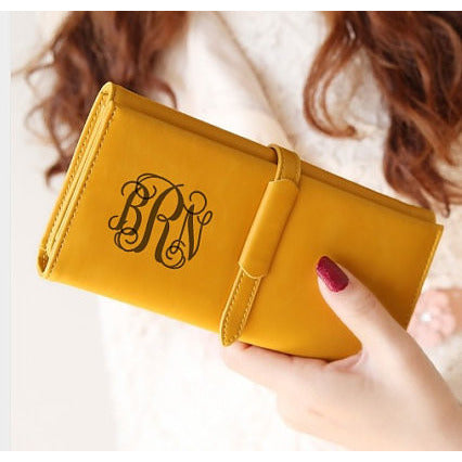 Monogrammed Clutch for Women
