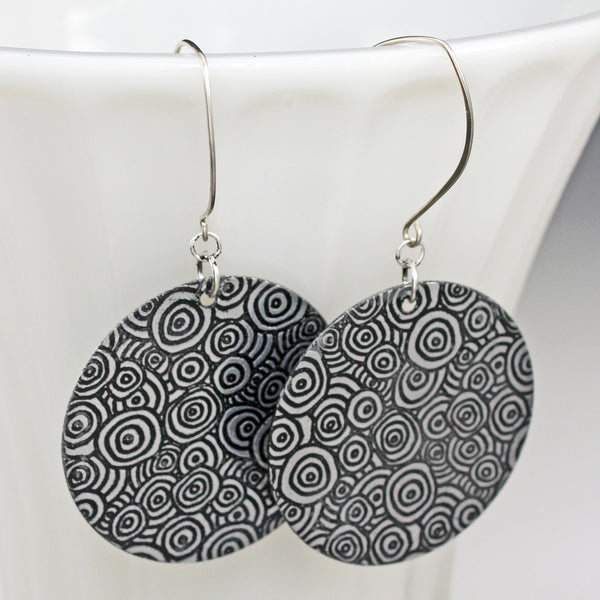 Circle Pattern Earrings