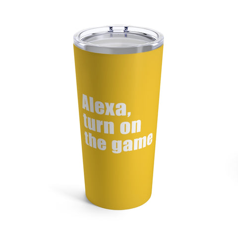 Alexa, Turn on the Game | Baseball Tumbler