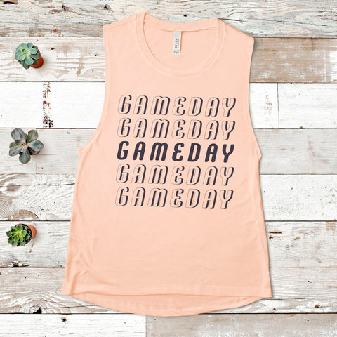 Gameday Repeat Muscle Tank