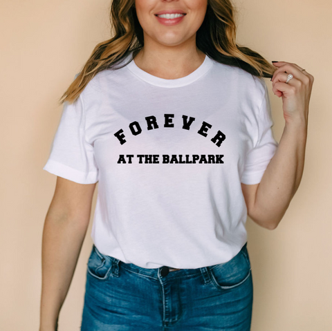 Forever at the Ballpark| Unisex Tee