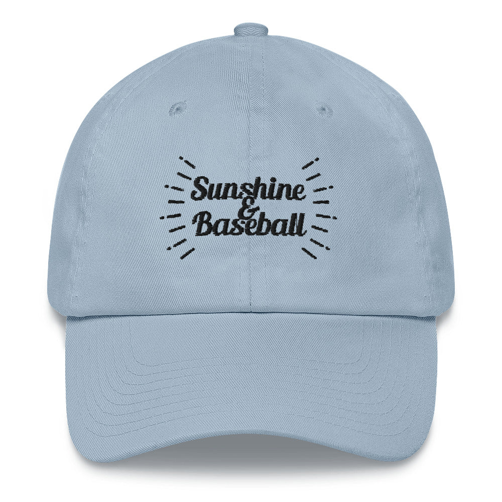 Sunshine and Baseball | Light Blue Hat