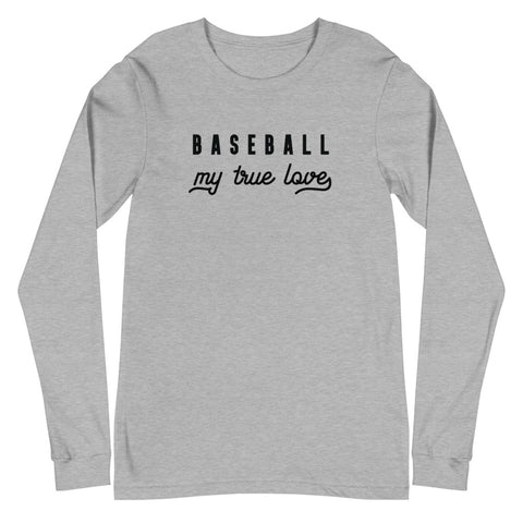 True Love Long Sleeve Baseball Tee