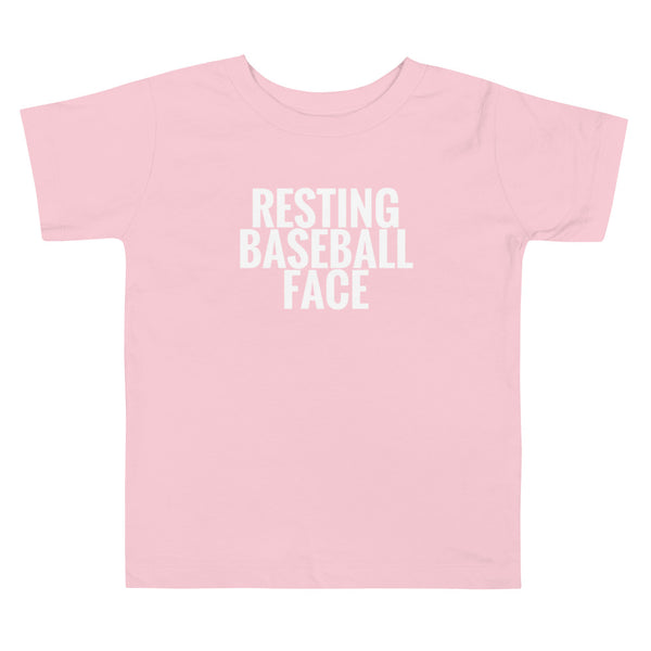 Resting Baseball Face | Toddler Tee