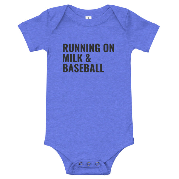 Running on Milk & Baseball | Onesie