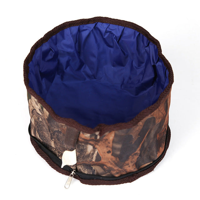 Collapsible Camo Bowl - Canine Love Co.
