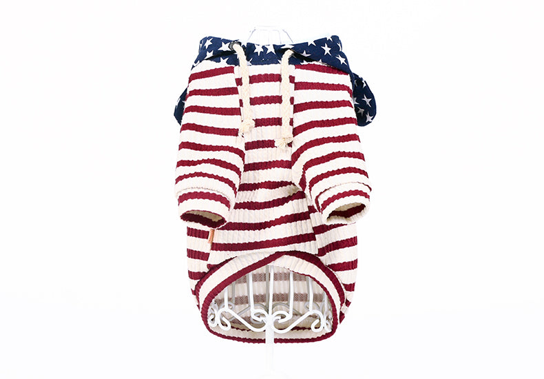 Stars and Stripes Hoodie - Canine Love Co.