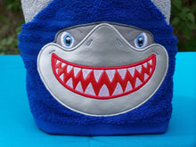 Character Inspired Hooded Towel - Shark