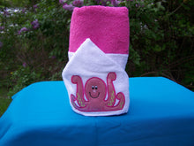 Octopus Hooded Towel