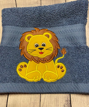 Lion Hooded Towels
