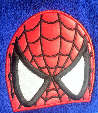 Web Hero Hooded Towel
