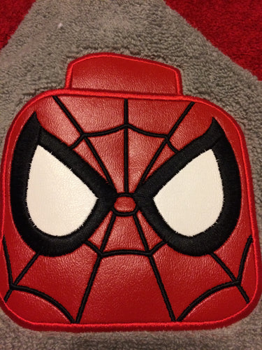 Block Spidey Guy Hooded Towel