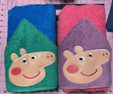 Pigs Hooded Towel