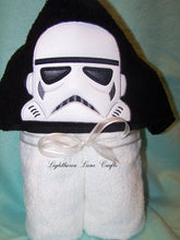 Galaxy Soldier Hooded Towel