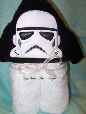 Character Inspired Hooded Towel - Galaxy Soldier