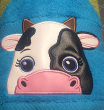 Cow Hooded Towel
