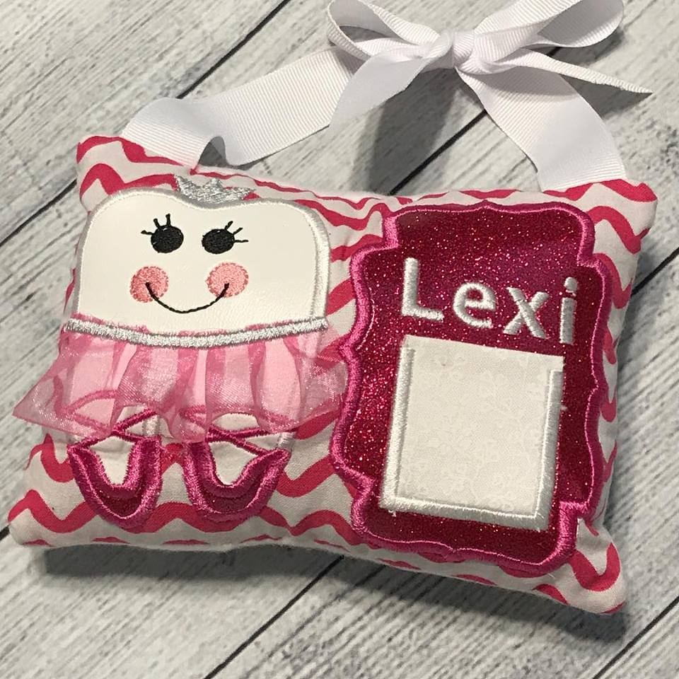 Girl's Tooth Fairy Pillow