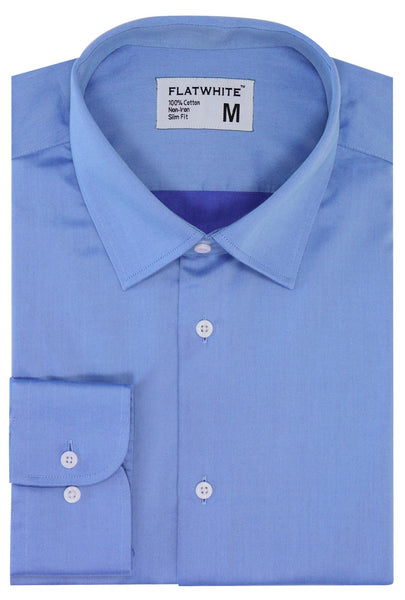 Flatwhite non iron shirts - The Sailor