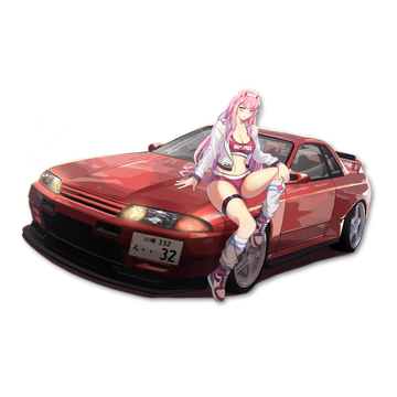 R32 Zero Two Kiss-Cut