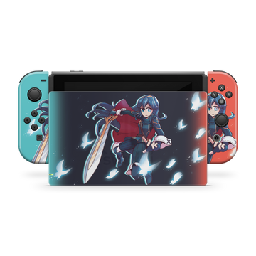 Jestami Lucina Switch Skin「Red / Blue Ver.」