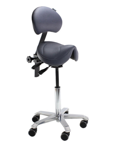 Score Amazone Saddle Stool with Backrest (Code A83)
