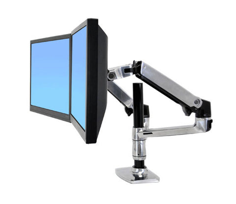 Ergonomic Dual Desk Mounted Monitor Arm (Code A54)