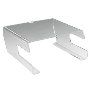 Perspex Monitor Stand with Keyboard Holder (Code A63)