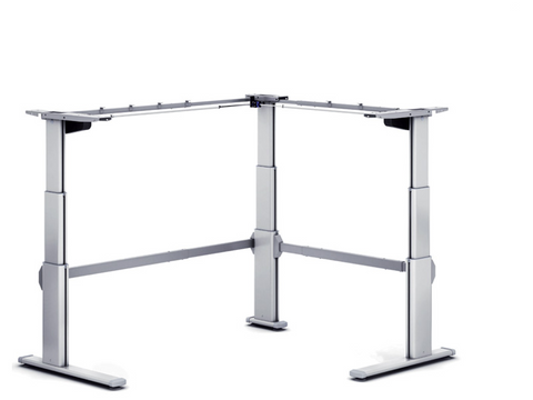 Aluforce Pro 250 Height Adjustable Desk Frame front view