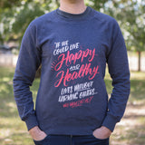 Organic Recycled Quote Sweatshirt