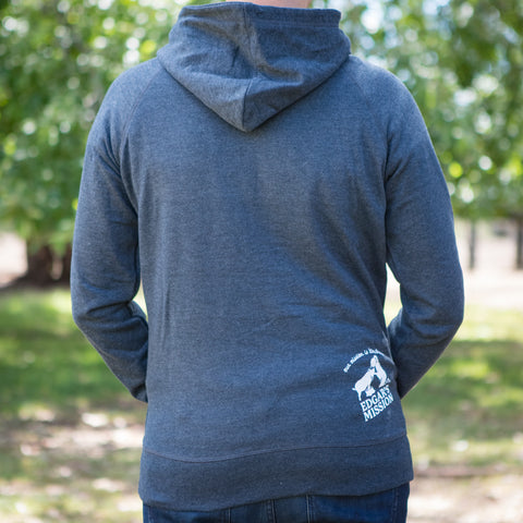 Organic Recycled Quote Pull Over Hoodie