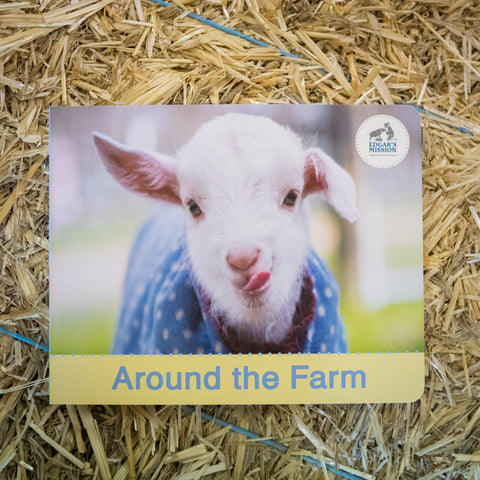 Around the Farm Board Book