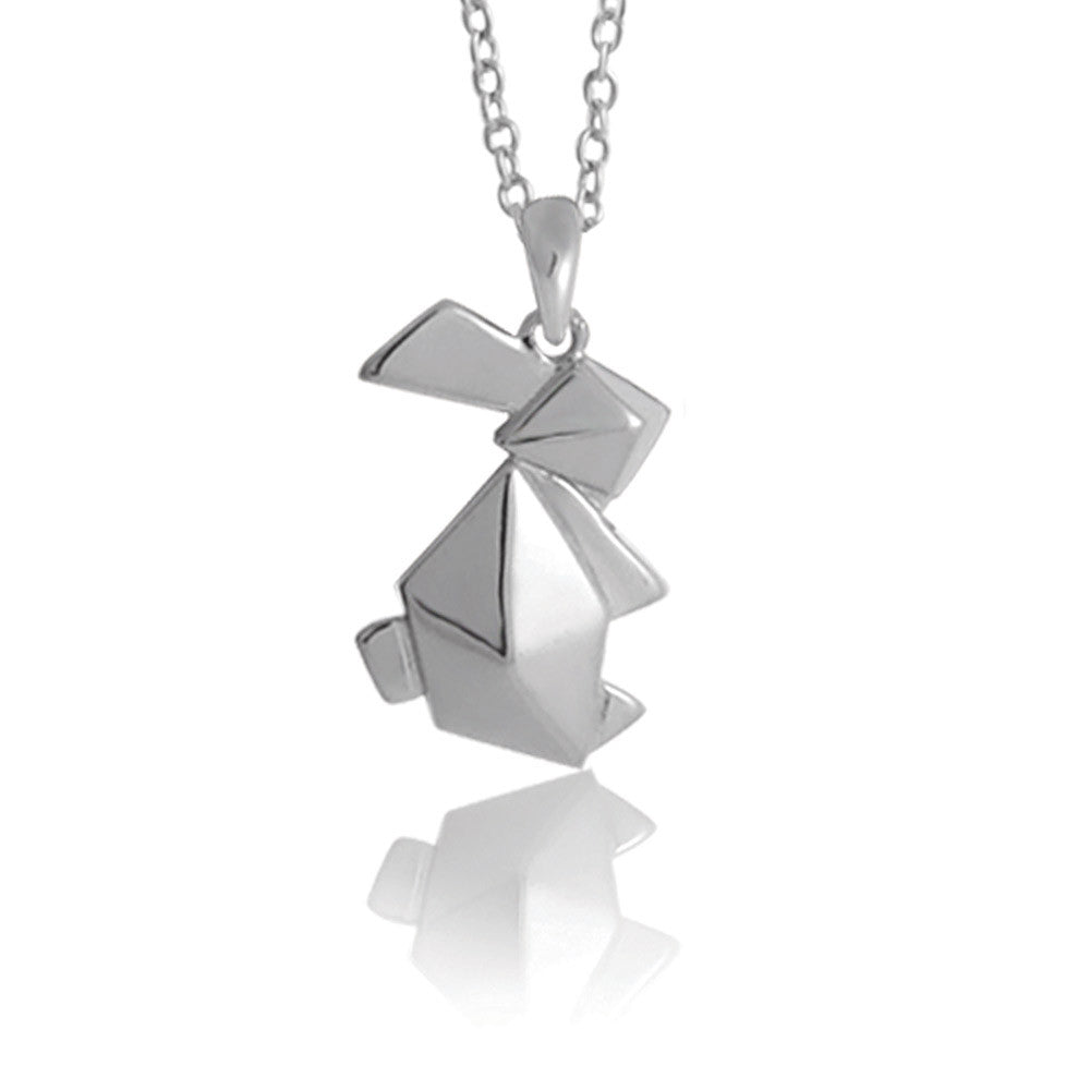 Origami Style Necklace