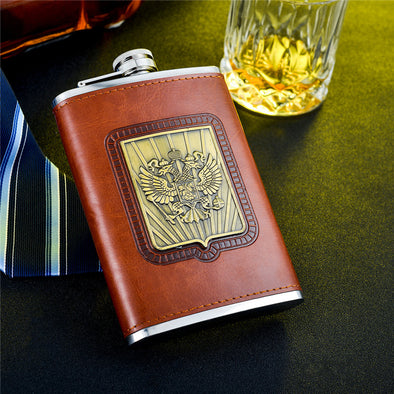 Whiskey flask 9 oz