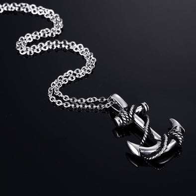 Anchor pendant & chain