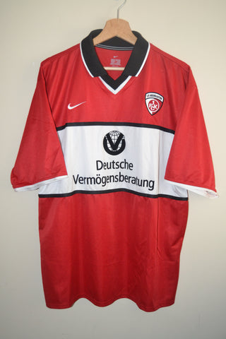 RETRO KAISERSLAUTERN 2001-2002 NIKE RED HOME SHIRT XL MENS GB 45 47 69f6465df
