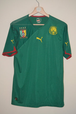 CAMEROON 2009 PUMA HOME SHIRT UK MEDIUM MENS dbc1b8cdd