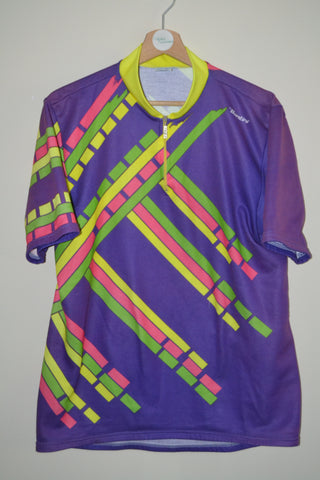 RETRO MULTI COLOURED SANTINI CYCLING JERSEY UK MENS XXXL b82b0101c