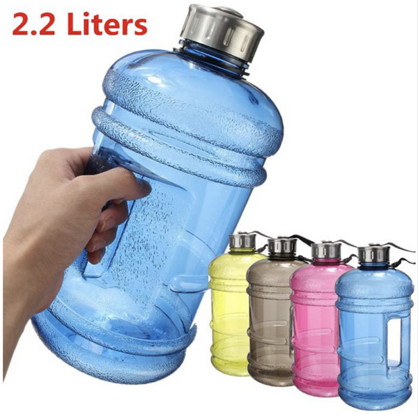 High Capacity Water Bottle 2.2L