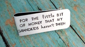 Grandfather's Money Clip, Custom Money Clip, Funny Papa Gift #1 Papa, Fathers Day Gift, Gift for Dad, Money Clips, HandmadeLoveStories, HandmadeLoveStories , [Handmade_Love_Stories], [Hand_Stamped_Jewelry], [Etsy_Stamped_Jewelry], [Etsy_Jewelry]